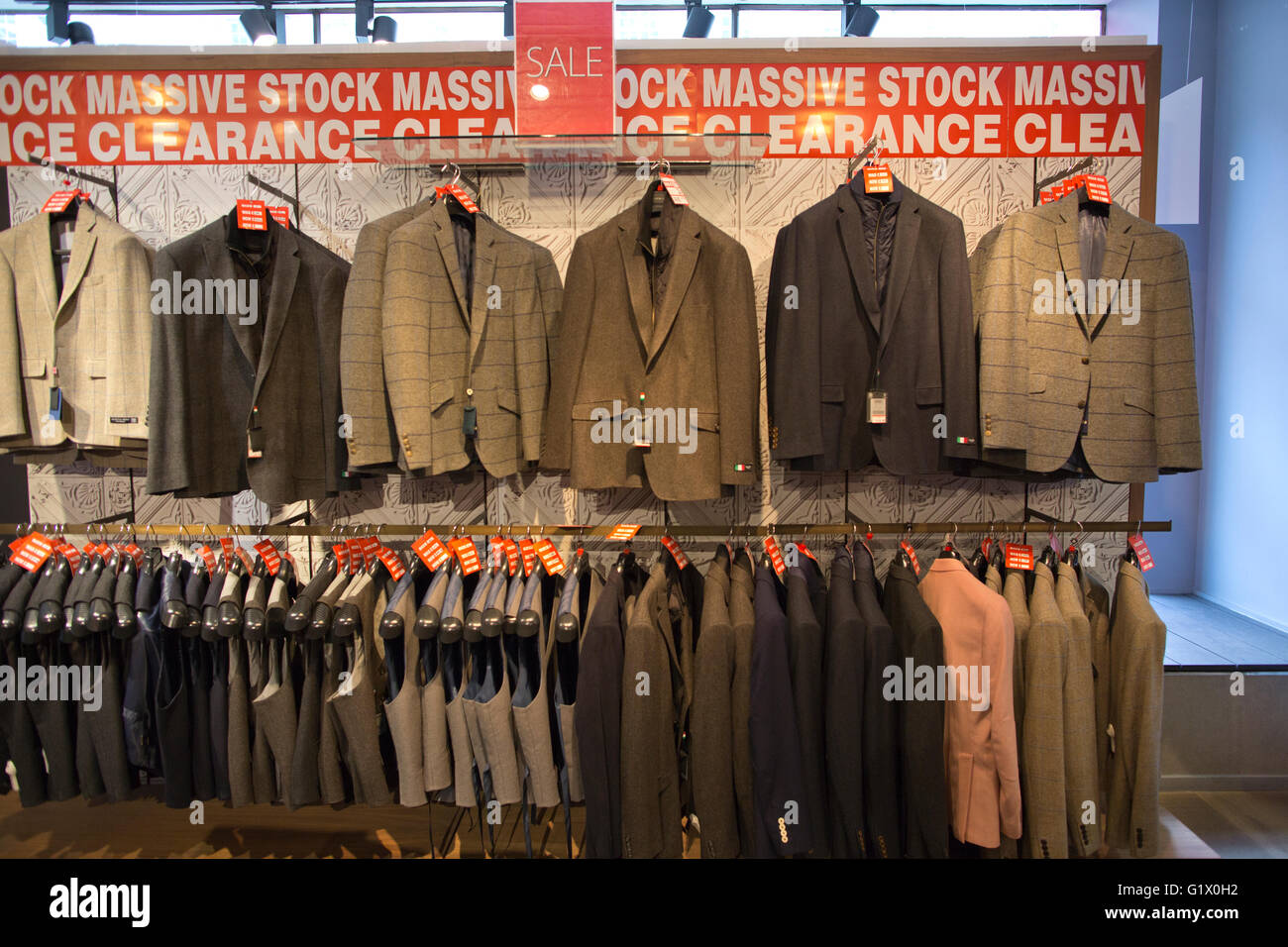 Austin Reed Files Notice For Administration With 1 000 Jobs At Risk Stock Photo Alamy