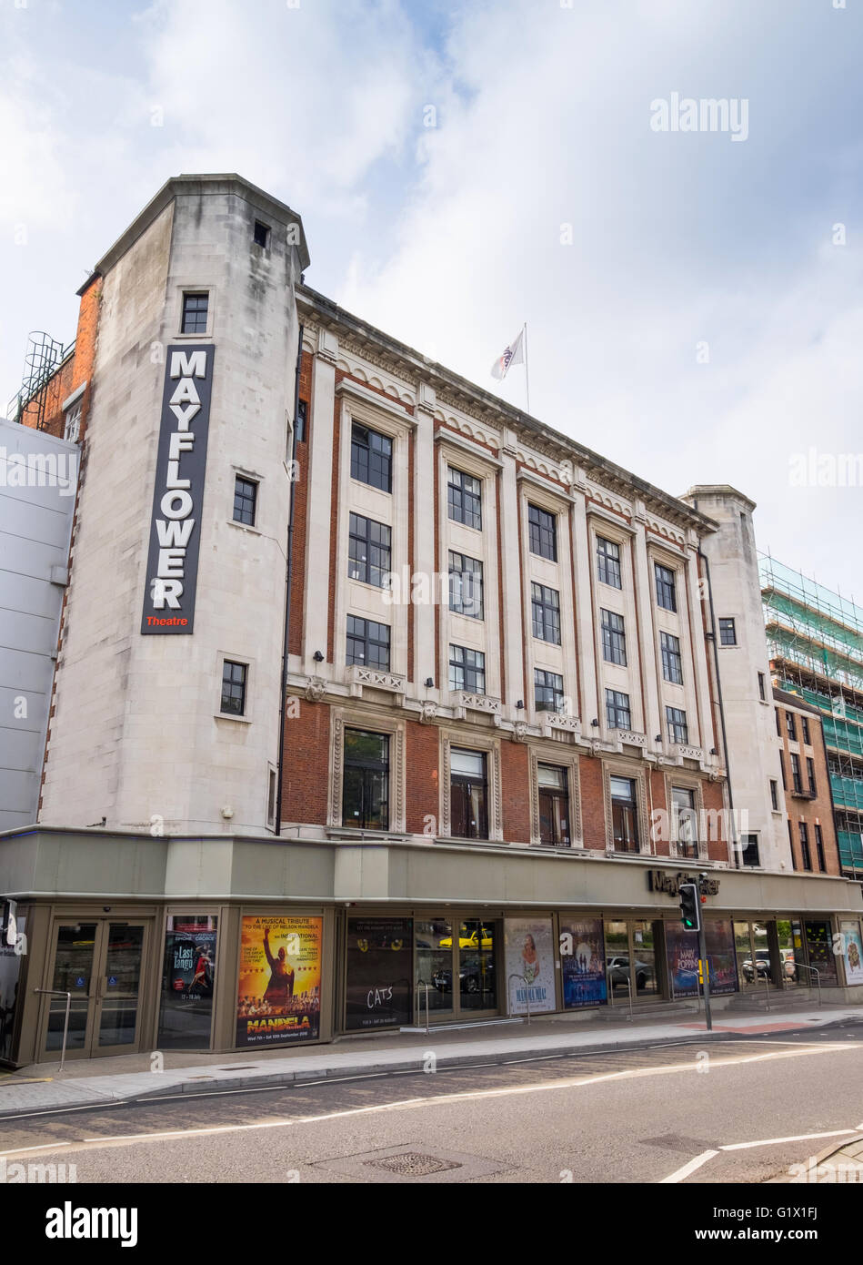 The Mayflower Theatre in Southampton - Stock Image