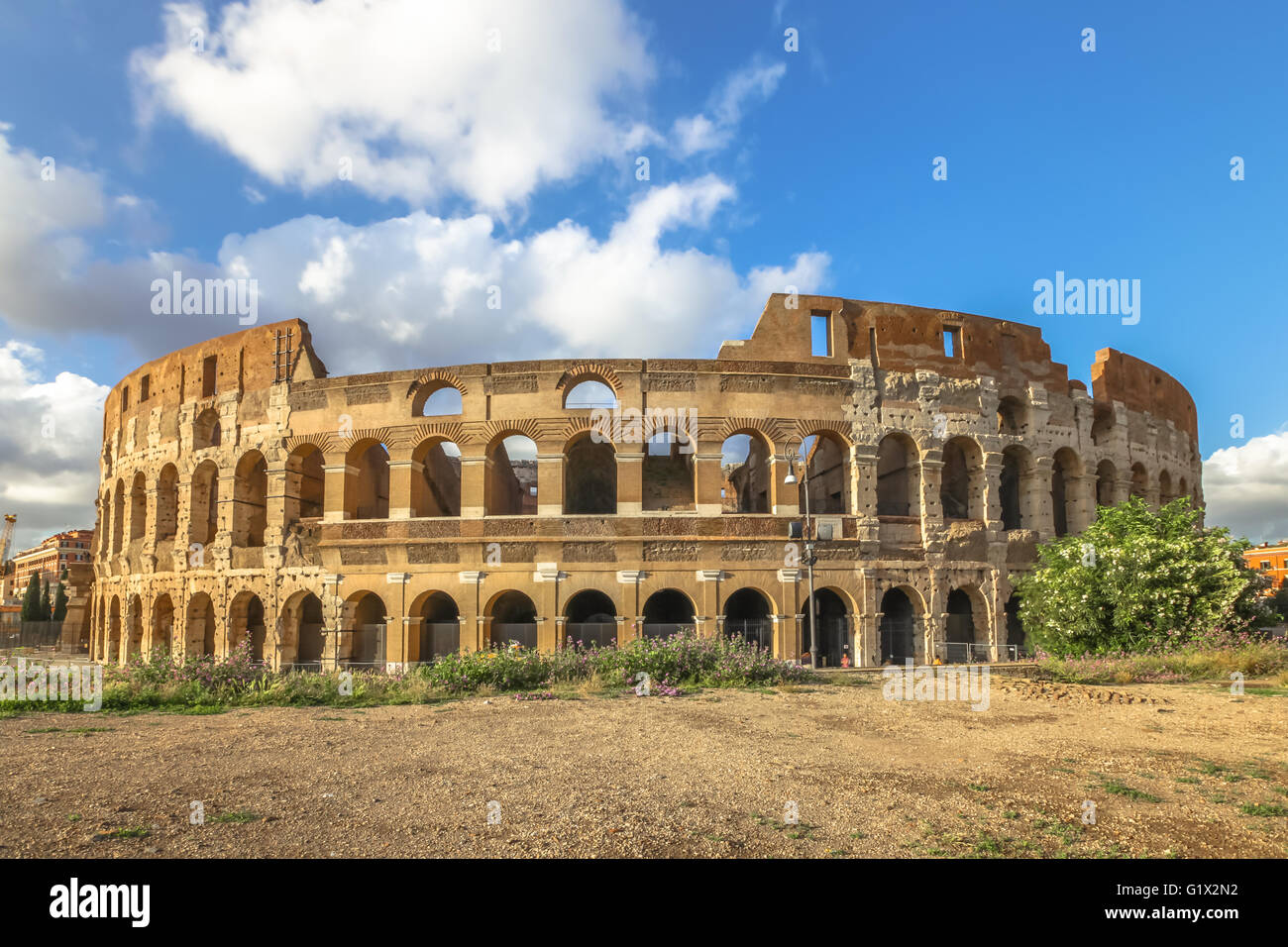 Colosseo Roma Italy - Stock Image
