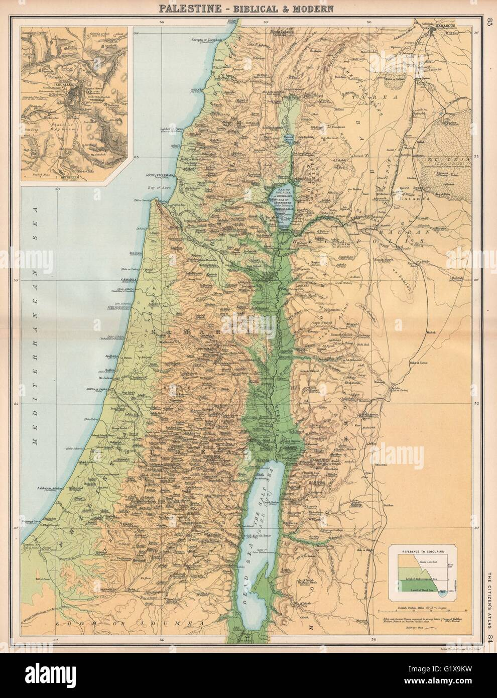 PALESTINE & JERUSALEM. Biblical and ancient place names ... on signposts of the times, jordan river israel bible times, map of middle east during bible times, map of moab bible times, map of bethel in bible times, maps from the bible, maps of babylonian conquest of judah, maps of the bible then and now, map of corinth in bible times, maps of ancient israel bible, map of sea of galilee in bible times, map of ancient bible times, maps of bible history online, map of shechem in bible times, israel in roman times, maps of middle east in time of moses, israel in new testament times, maps of roman empire over time, maps of mesopotamia that you can label, maps of babylon bible,
