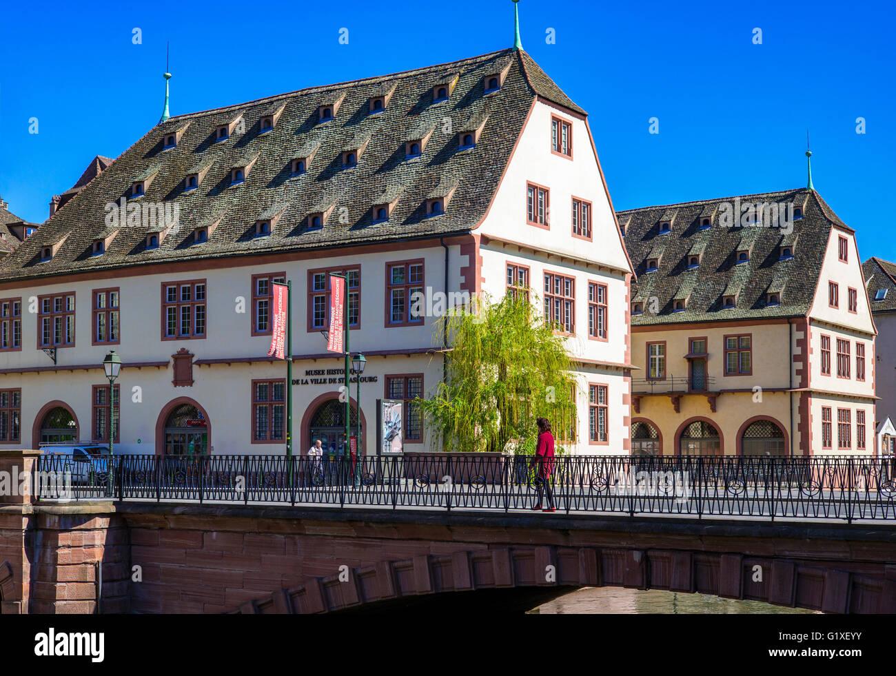 'La Grande Boucherie' building 16th century, historical museum, Strasbourg, Alsace, France - Stock Image