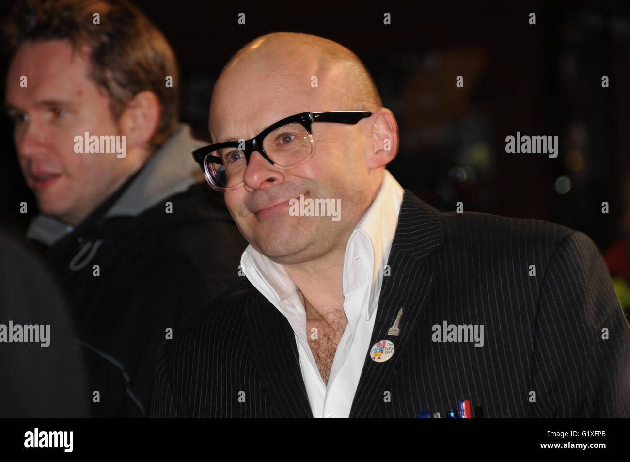 Comedian Harry Hill, at the premiere of his film: Harry Hill the Movie. - Stock Image