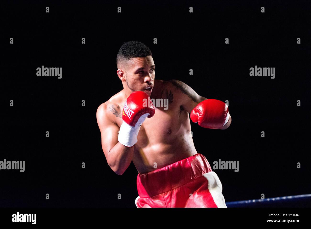 Gijon, Spain  21st May, 2016  Spanish Olympic boxer Jonathan Alonso