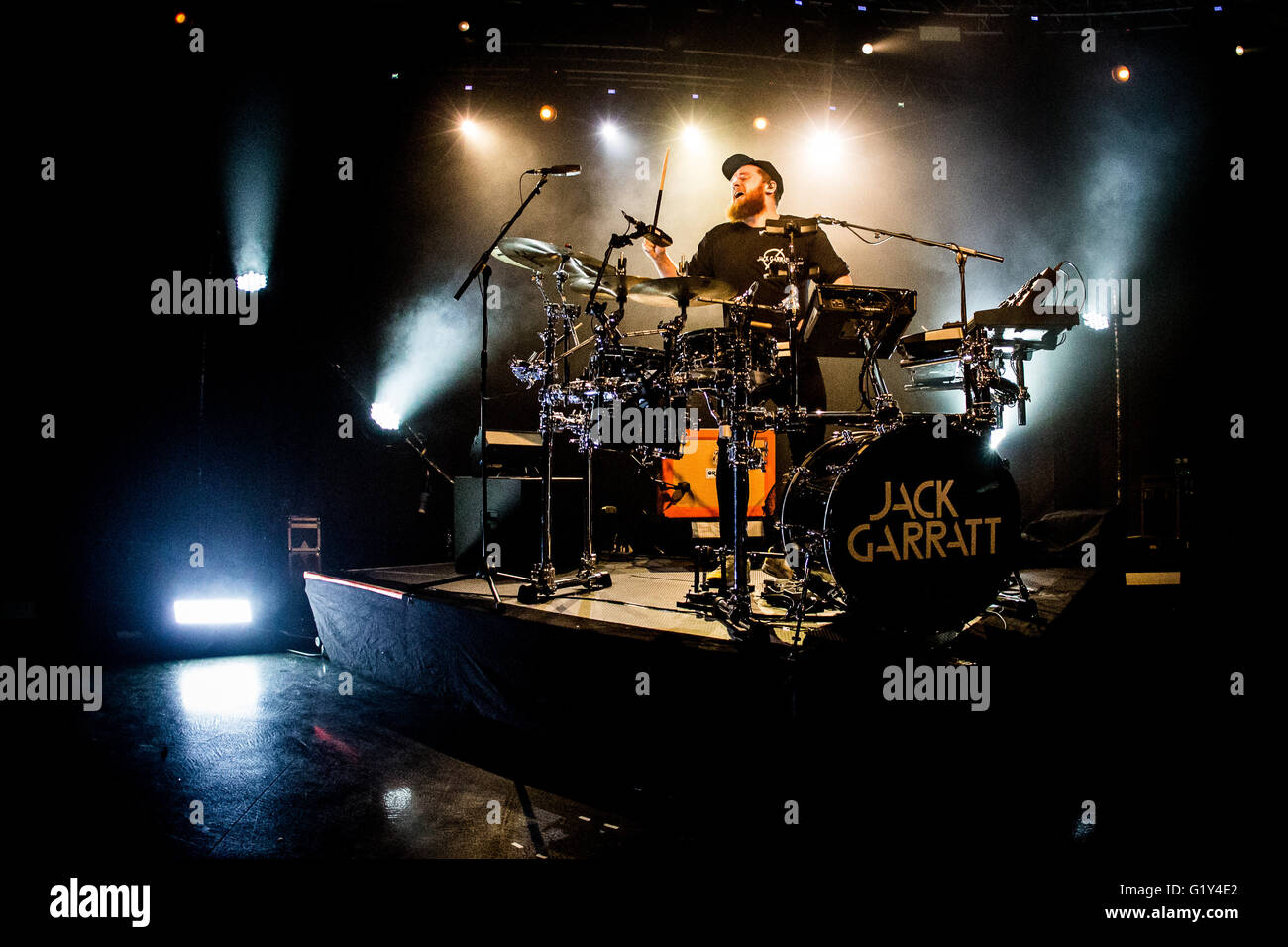 Milan, Italy 20th may 2016 Jack Garratt live at Fabrique in Milan Credit:  Roberto Finizio/ Alamy Live News - Stock Image