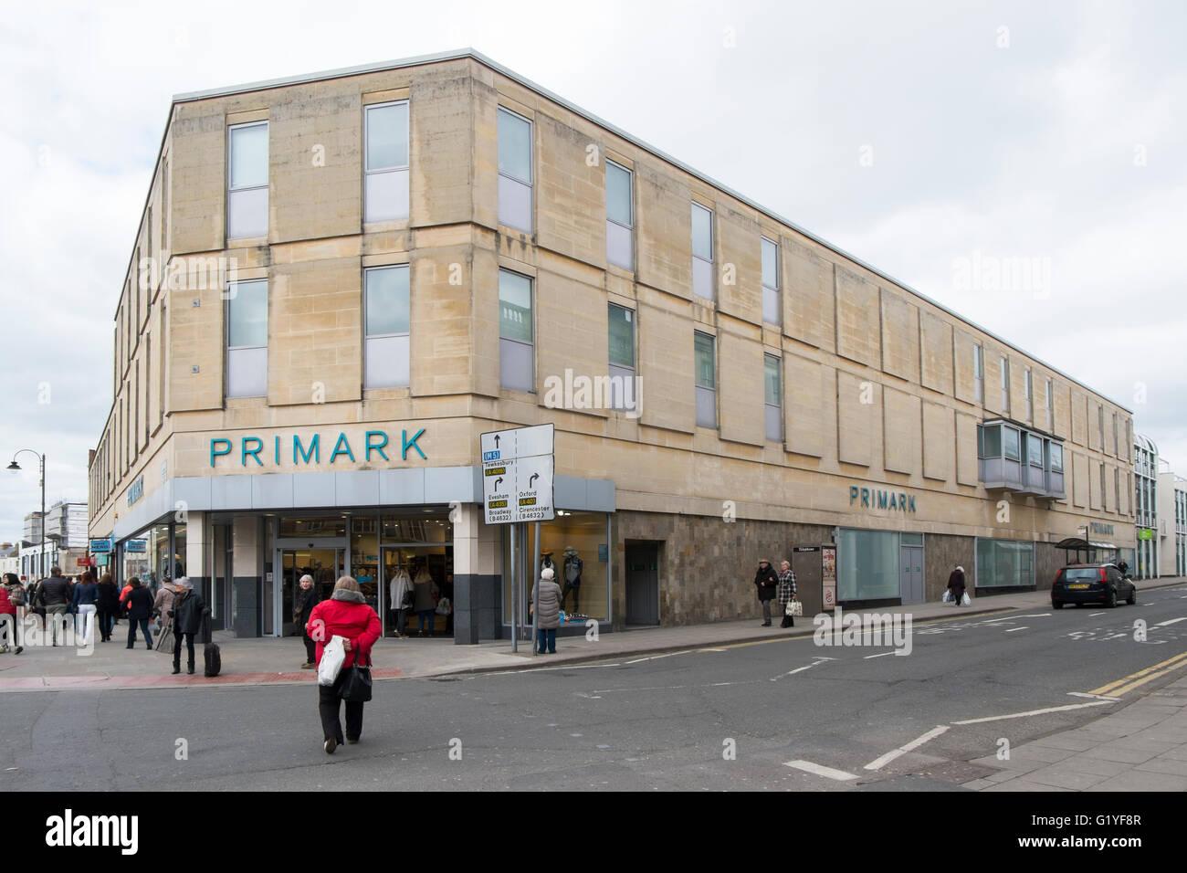 Primark clothes shop in Cheltenham, Gloucestershire, UK - Stock Image