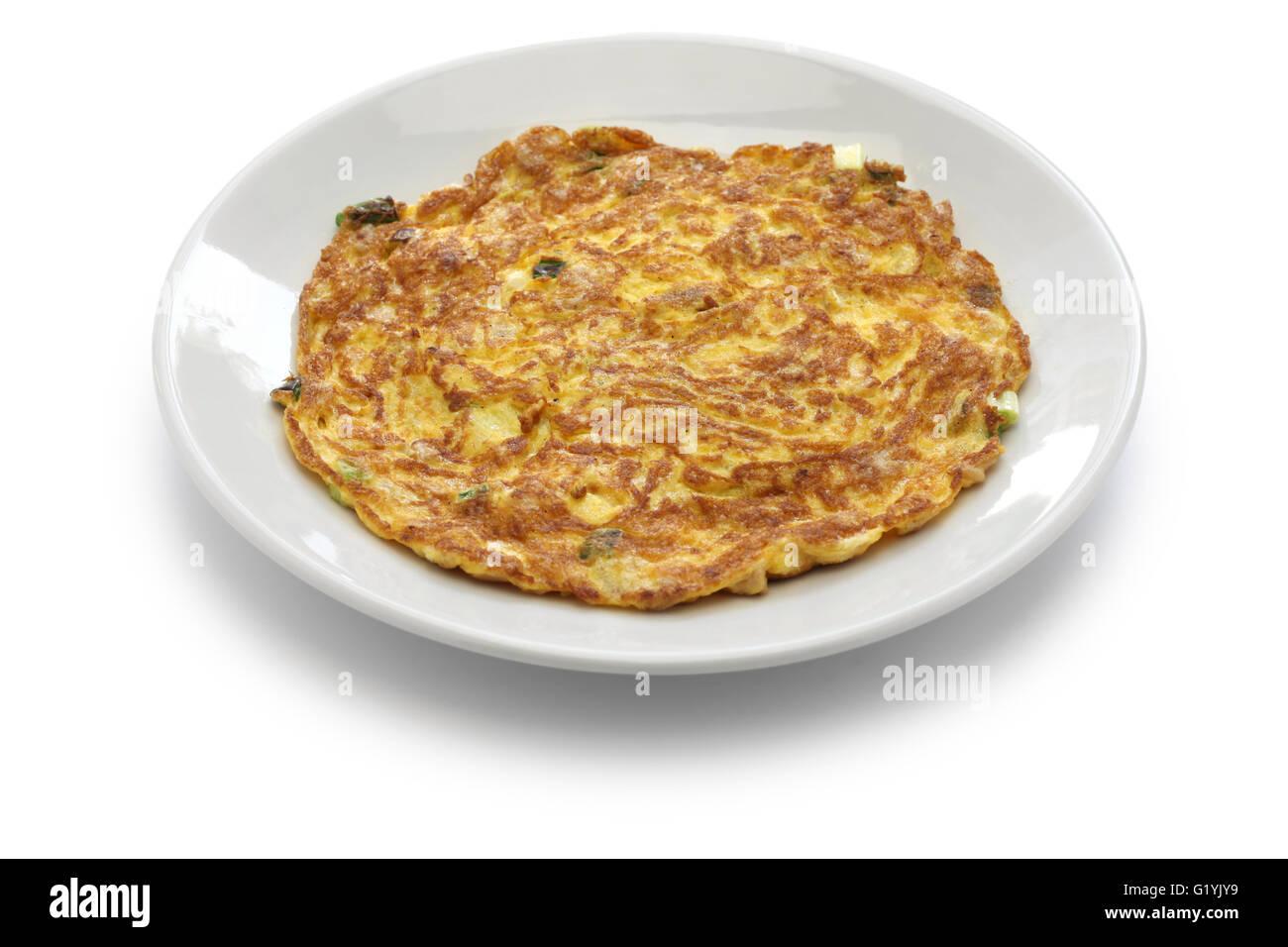 Taiwanese dried radish omelet, Taiwanese cuisine - Stock Image