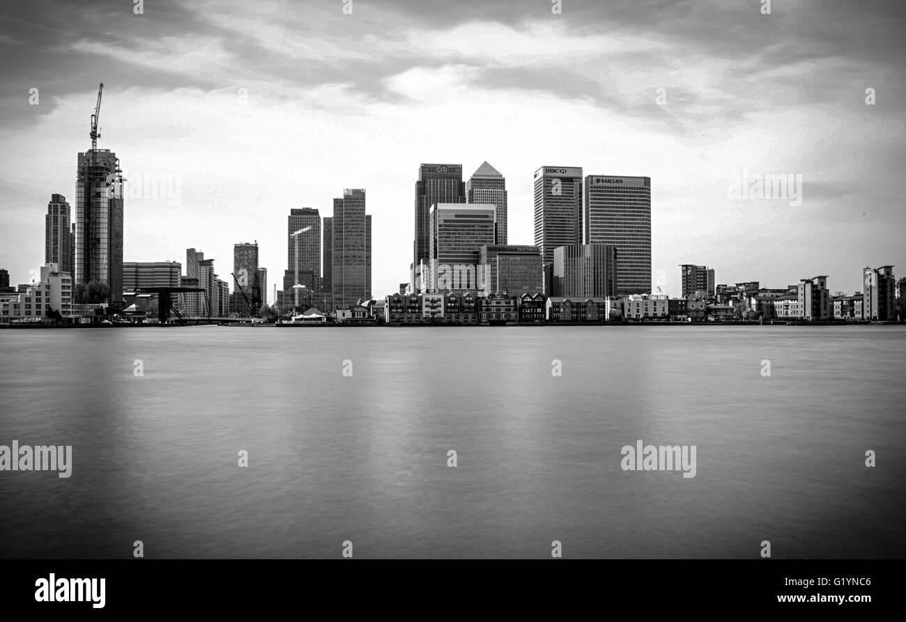 Canary Wharf - Stock Image