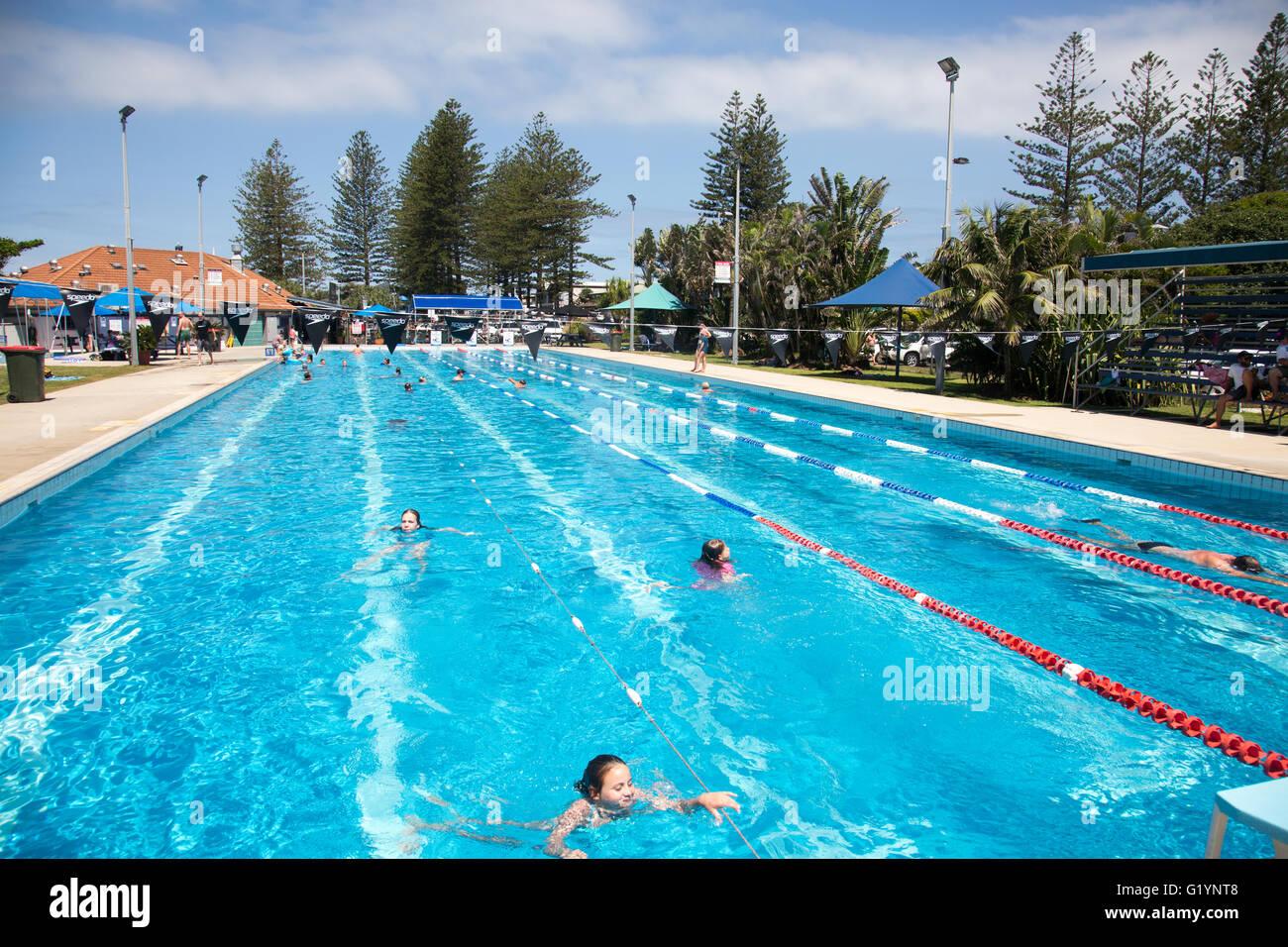 Public swimming pool stock photos public swimming pool - Public swimming pools in charlotte nc ...