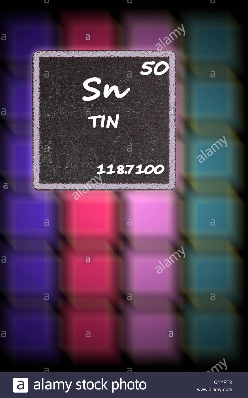 Chemical Symbol Sn Stock Photos Chemical Symbol Sn Stock Images