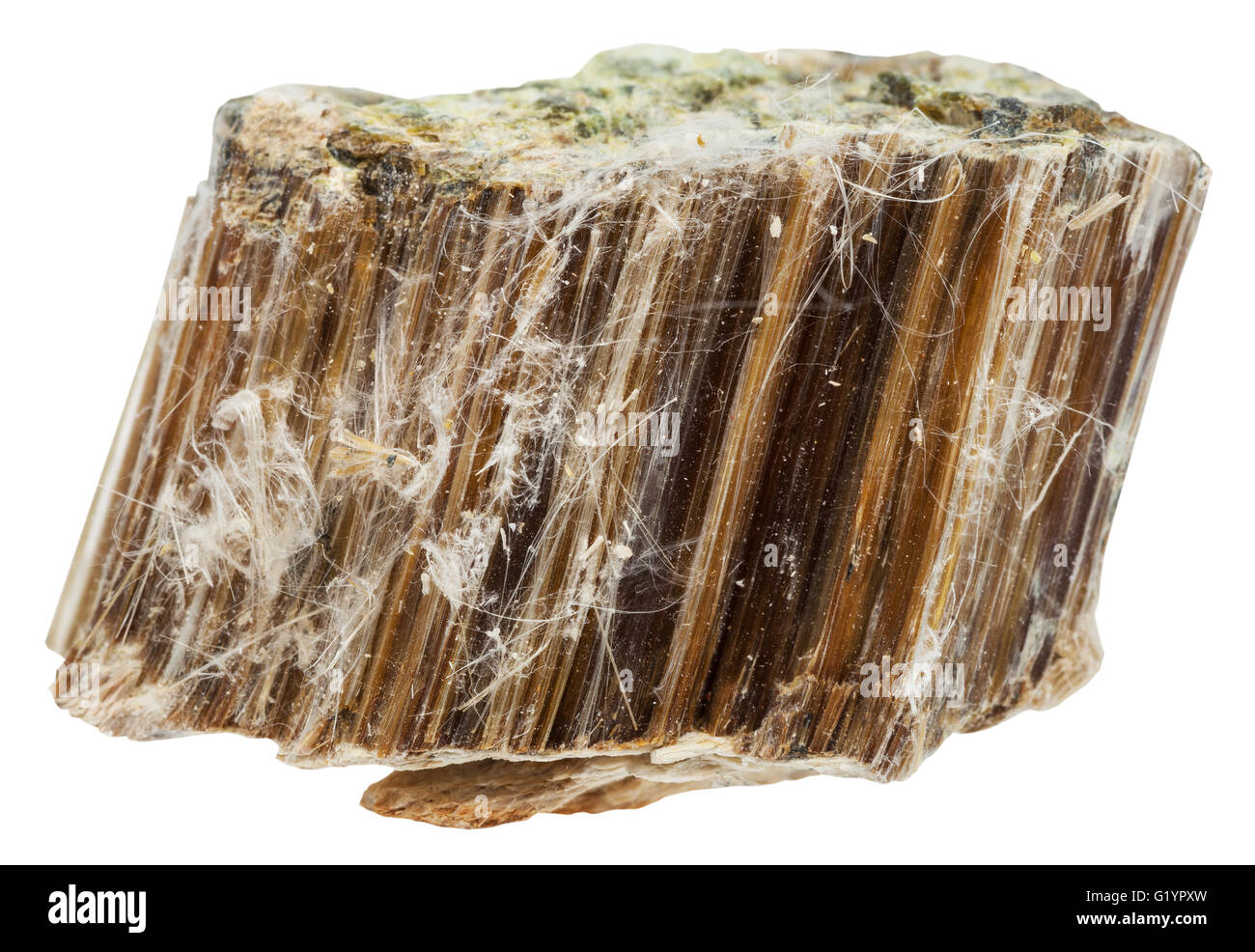 Macro Shooting Of Natural Mineral Stone Piece Of Brown