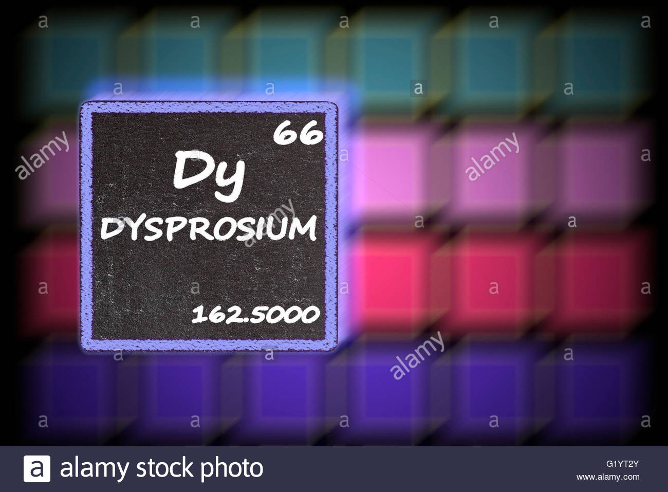 Chemical Symbol Dy Stock Photos Chemical Symbol Dy Stock Images