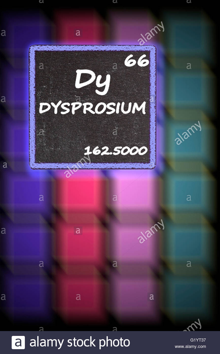 Dysprosium details from the periodic table stock photo 104488475 dysprosium details from the periodic table urtaz Image collections
