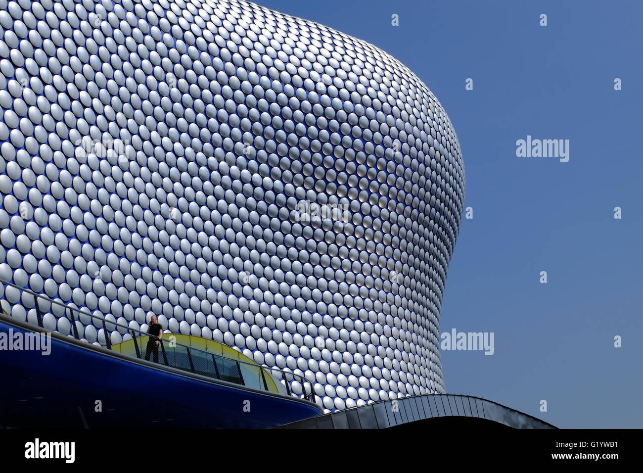 Selfridges in Birmingham, UK, a landmark building in the centre of the city - Stock Image