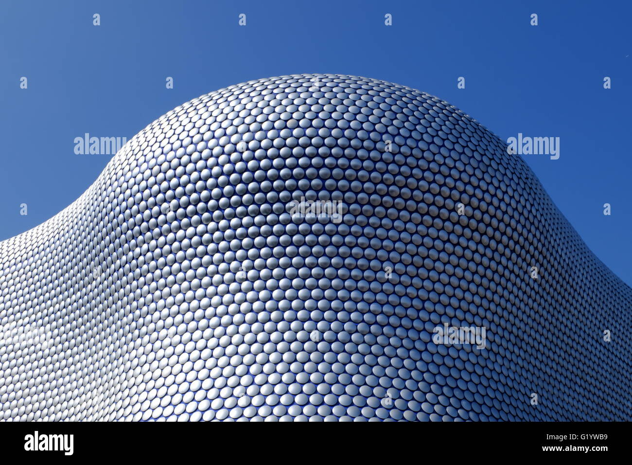 Selfridges in Birmingham, UK, a landmark building in the centre of the city - Stock Image