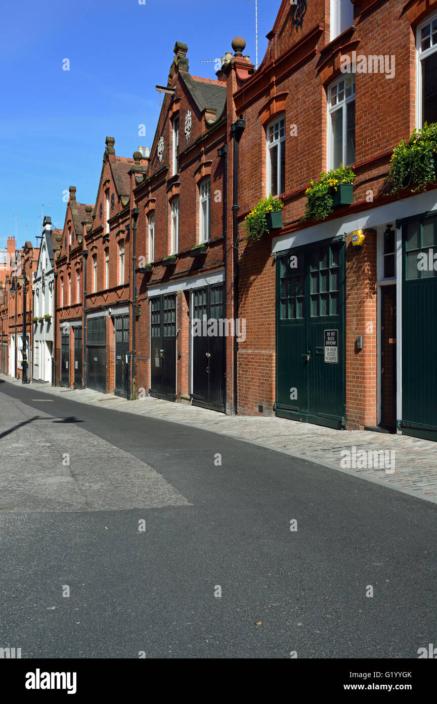 Bourdon Street, Mayfair, London W1, United Kingdom Stock Photo