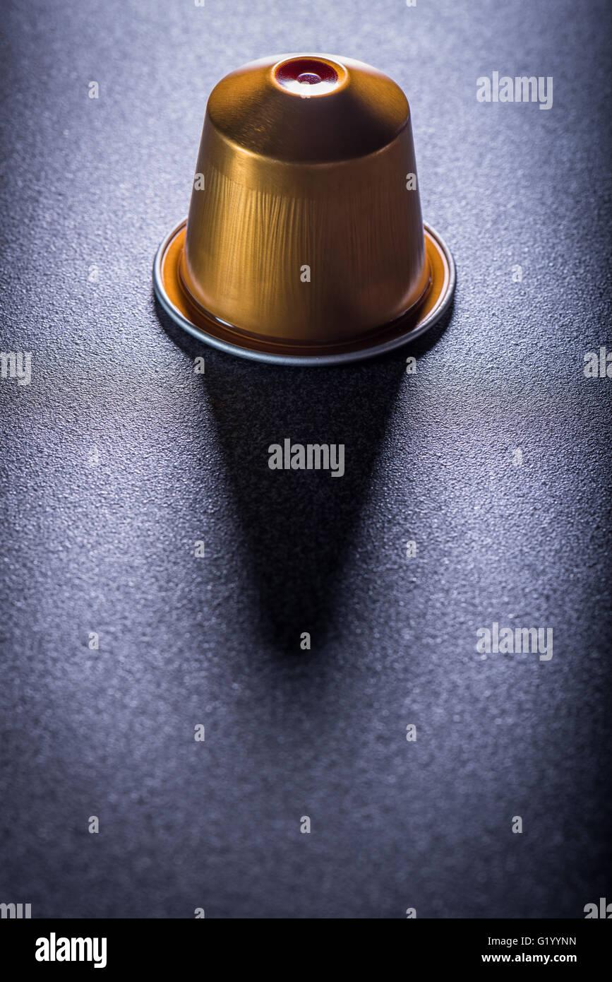 Coffee Capsule - Stock Image