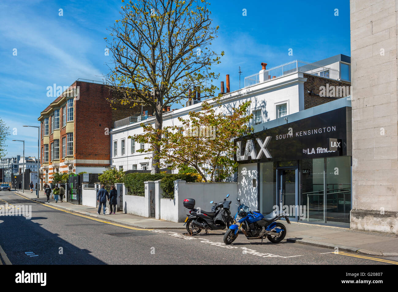 Lax South Kensington, London - Stock Image