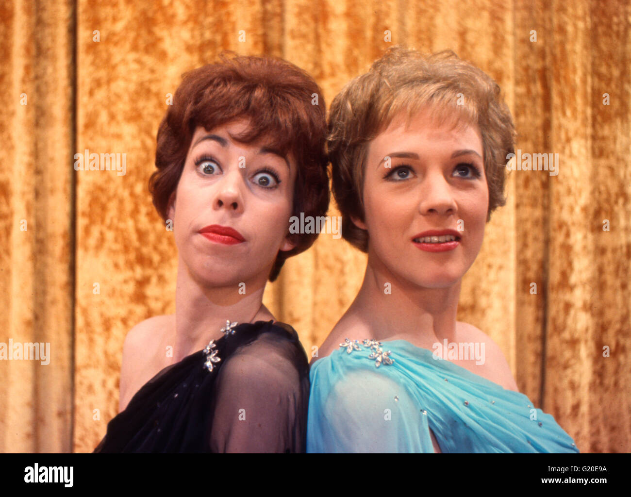 Julie Andrews and Carol Burnett - Stock Image