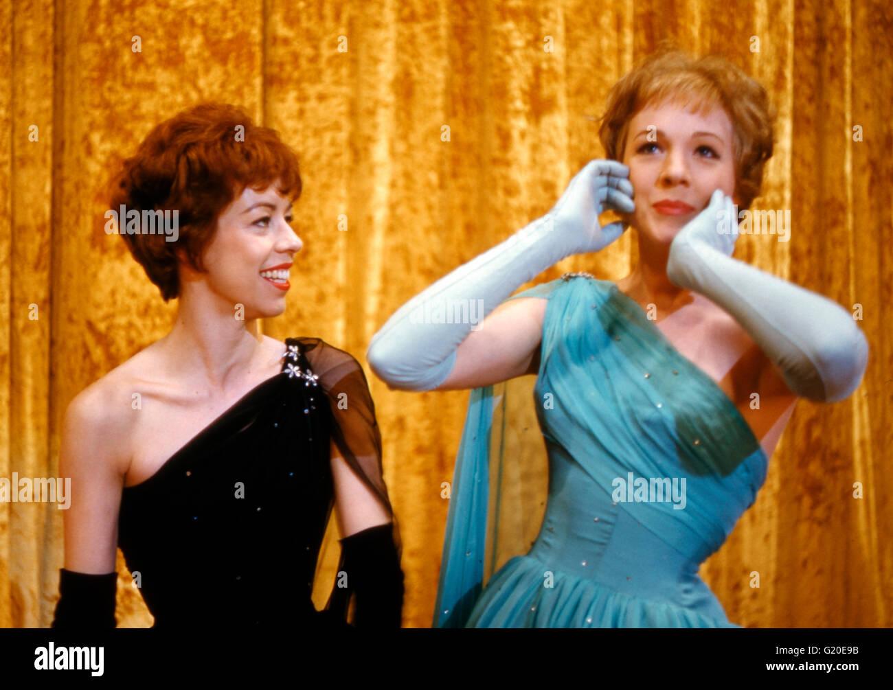 Julie Andrews and Carol Burnett - Stock Image