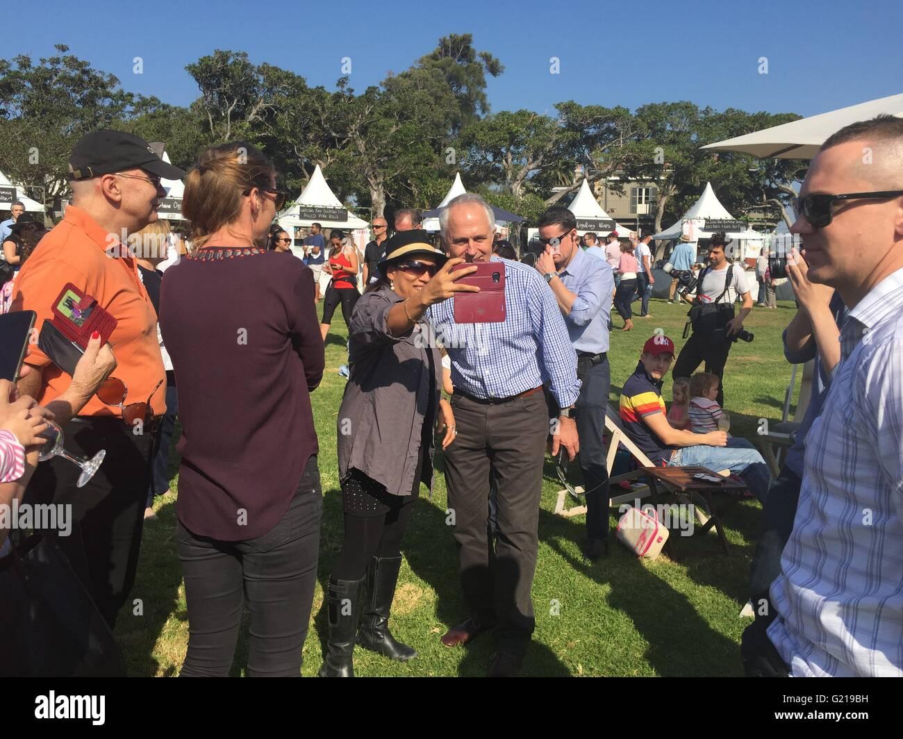 Malcolm Turnbull - Prime Minister of Australia - Stock Image