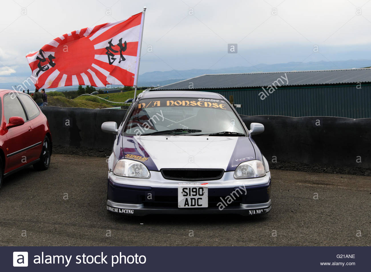 Dunfermline, UK. 22 May, 2016.  At the event there was also a Japanese themed car show featuring some  Japanese - Stock Image