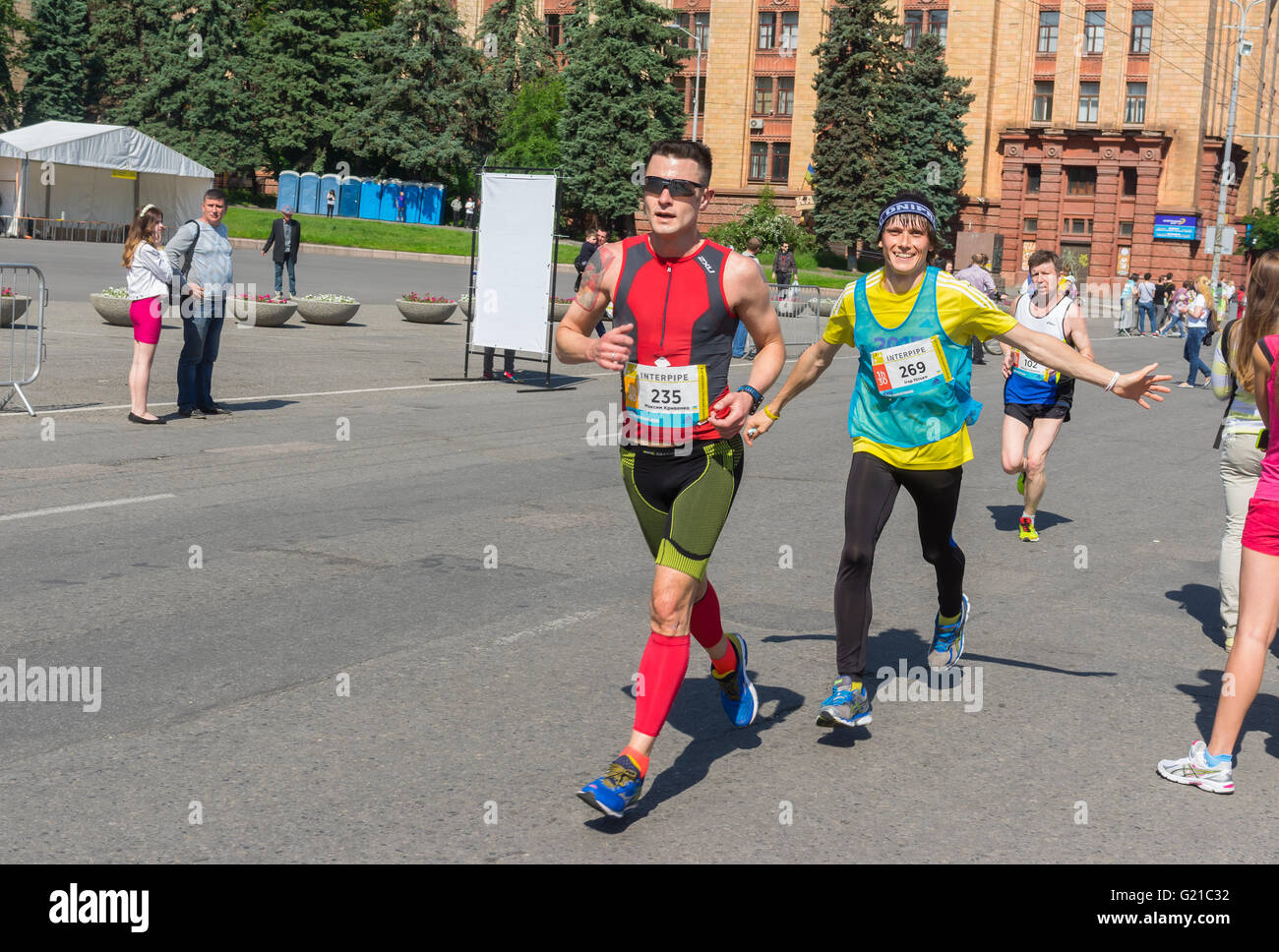 The second time at the 3rd INTERPIPE Dnipro Half Marathon will be the Family Run Family Run