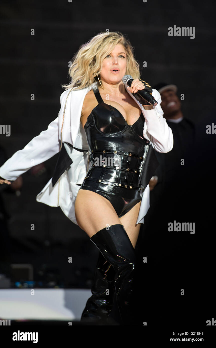 Fergie Concert In Rock In Rio The Californian Girl From