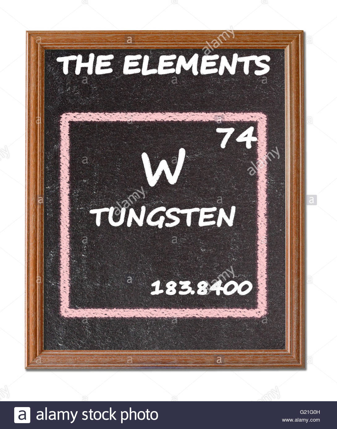 Tungsten details from the periodic table stock photo 104526033 tungsten details from the periodic table urtaz Image collections
