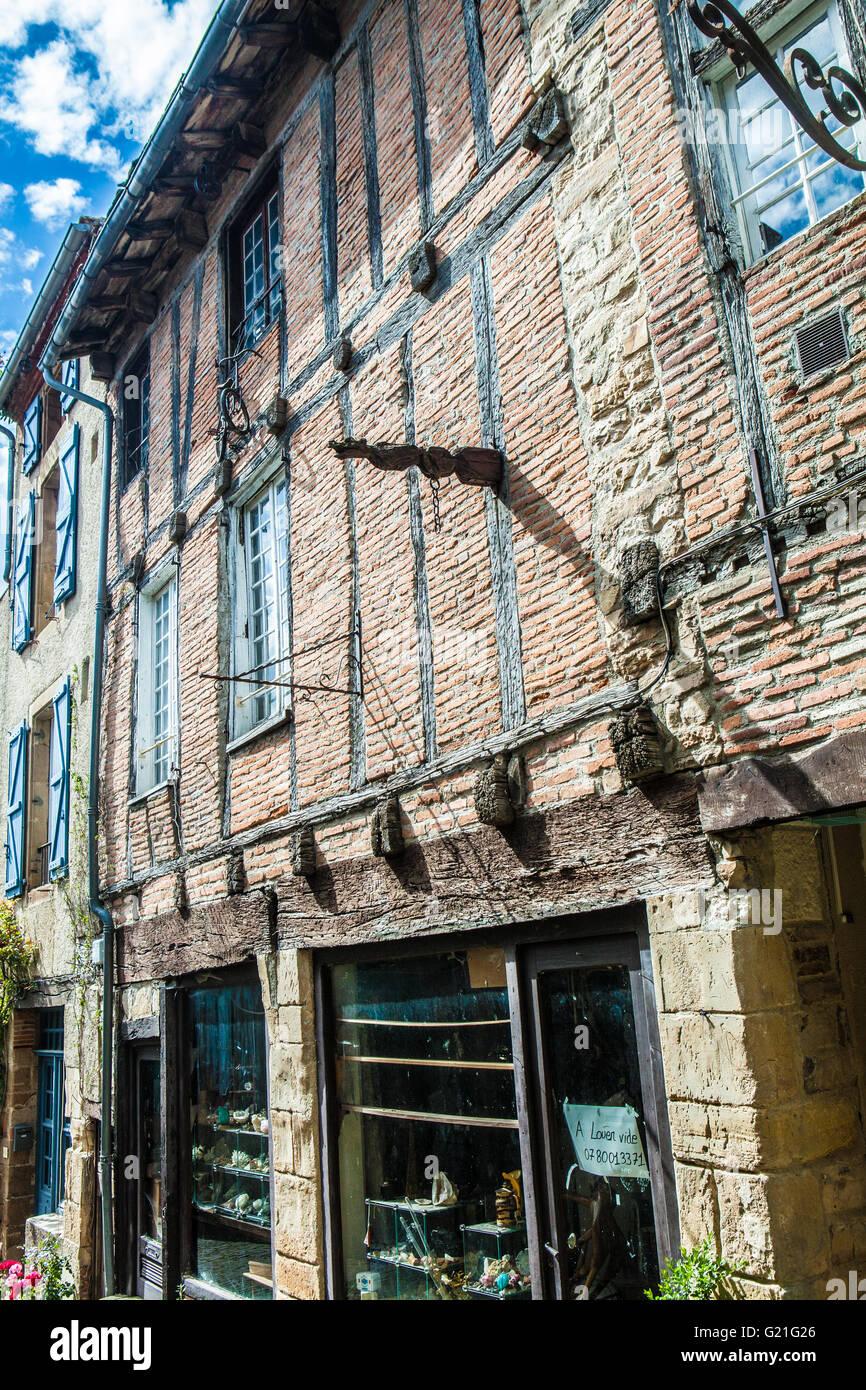 Cordes-sur-Ciel - Stock Image