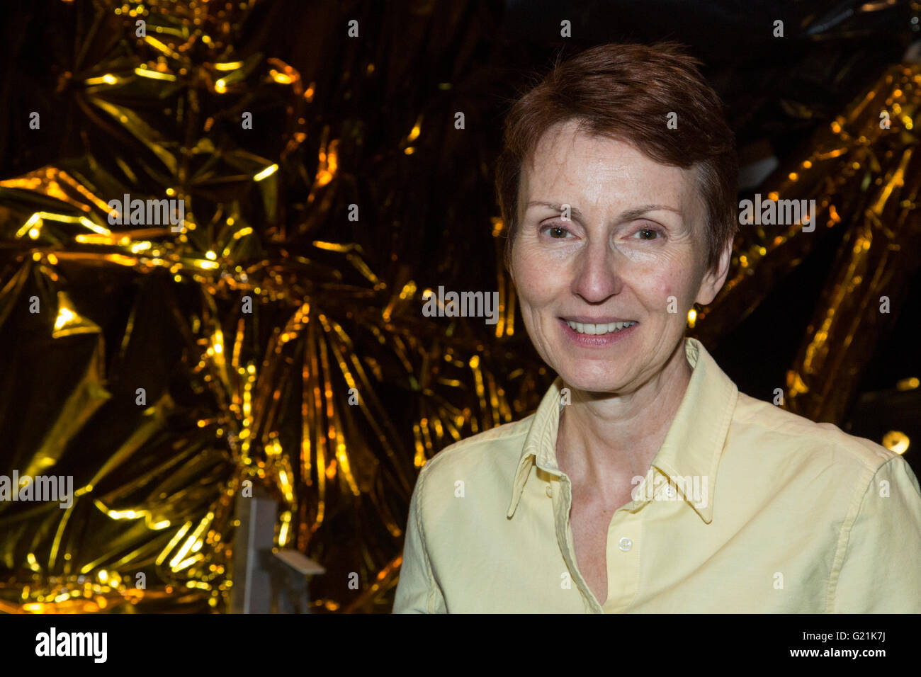 London, UK. 20 May 2016. Helen Sharman celebrates 25 years as first UK astronaut at the Science Museum. She is joined - Stock Image