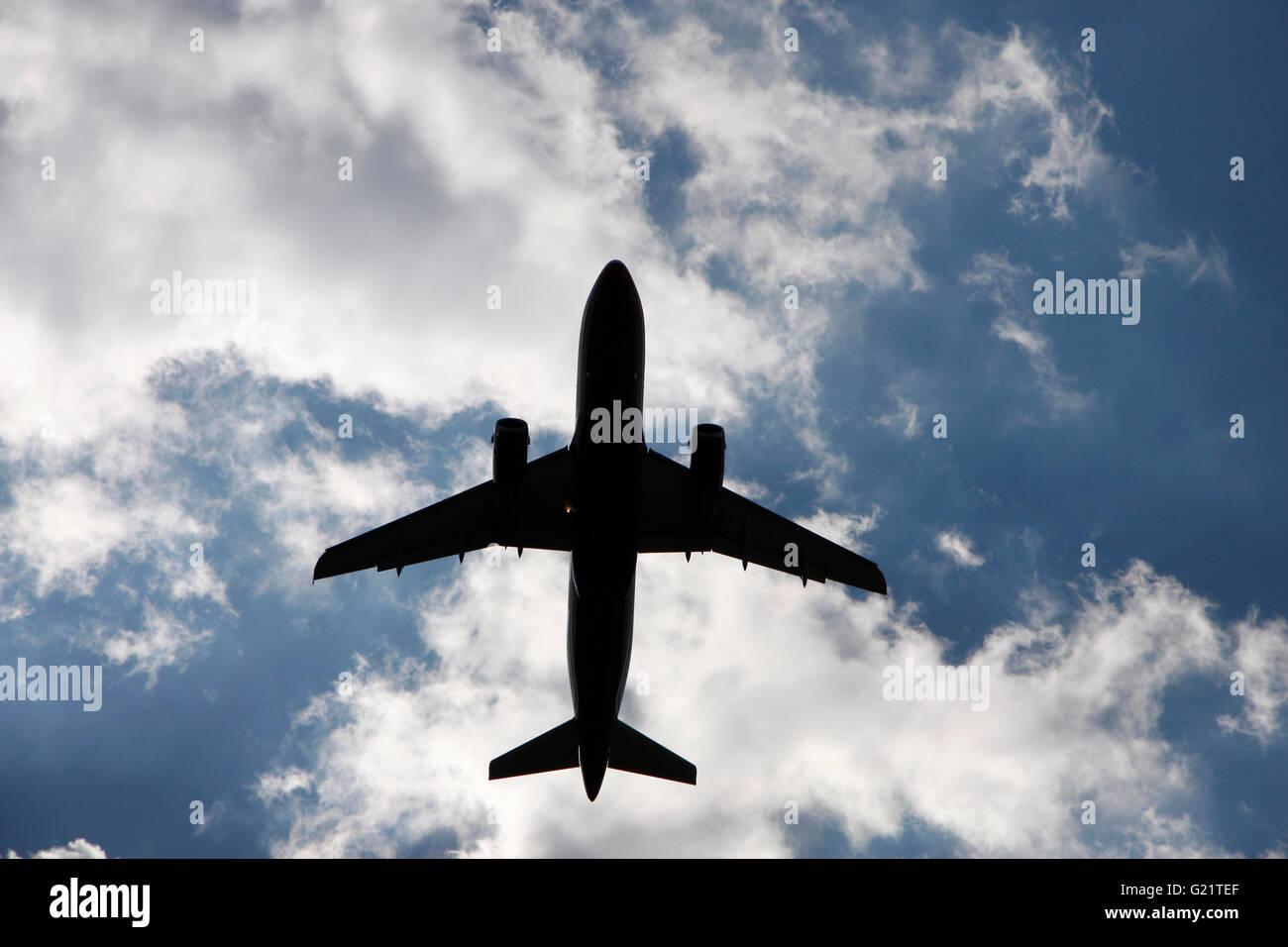 Flugzeug. - Stock Image