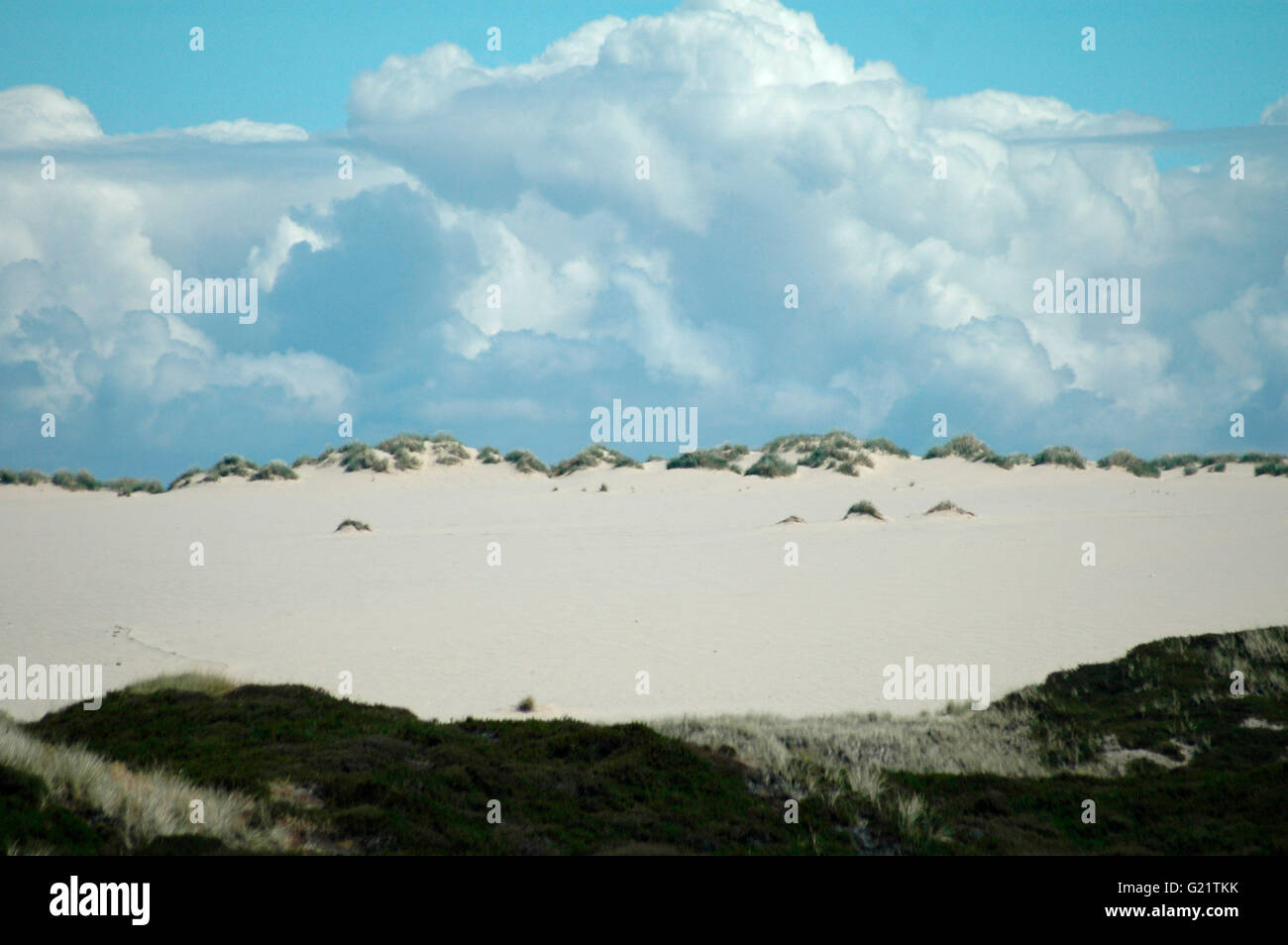 Grosse Wanderduene, Sylt. Stock Photo