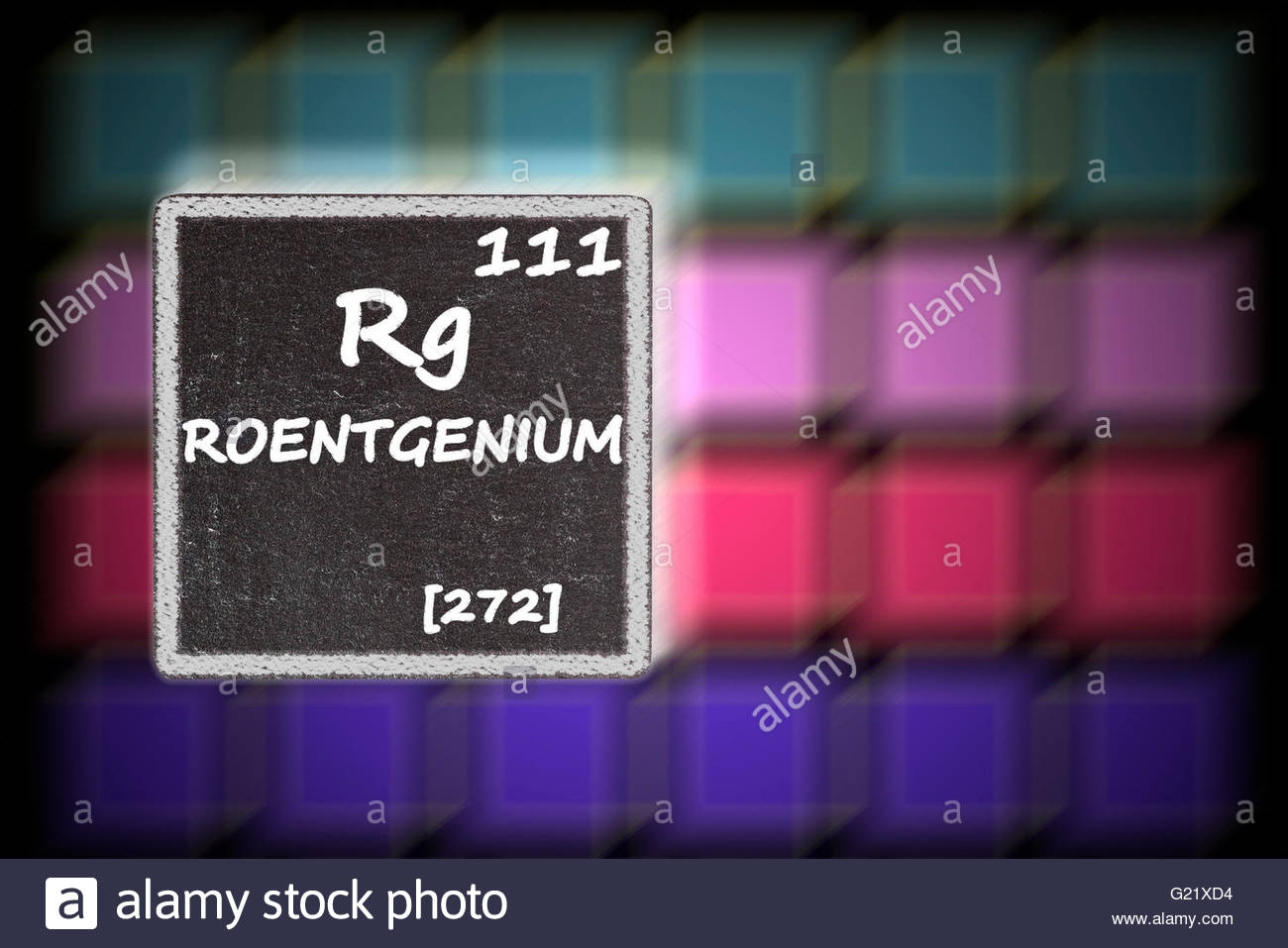 Atomic number 111 stock photos atomic number 111 stock images alamy roentgenium details from the periodic table stock image urtaz Gallery