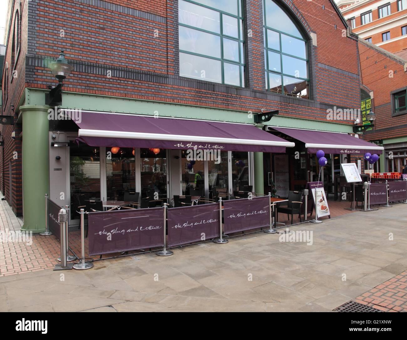 The Slug And Lettuce Birmingham: Brindley Place Birmingham Stock Photos & Brindley Place