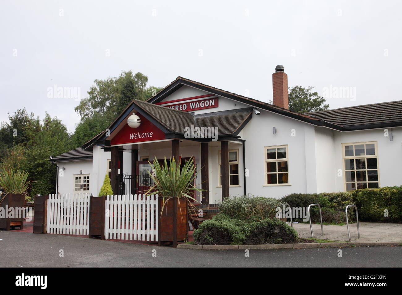 The Covered Wagon pub in Moseley, Birmingham Stock Photo