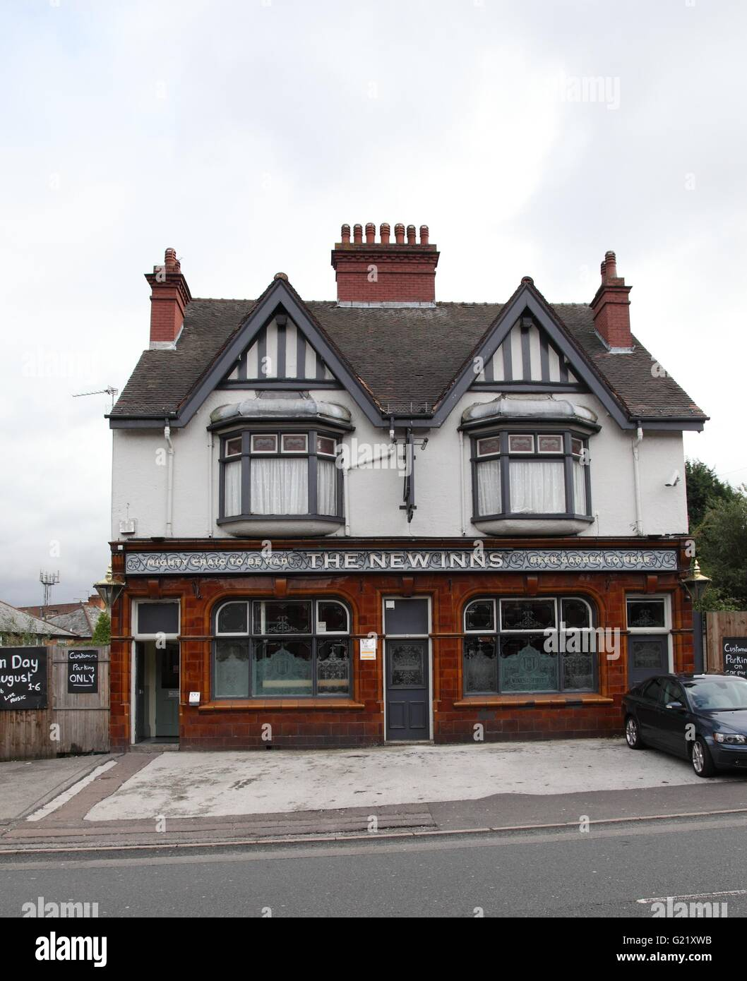 New Inns pub, Birmingham - Stock Image