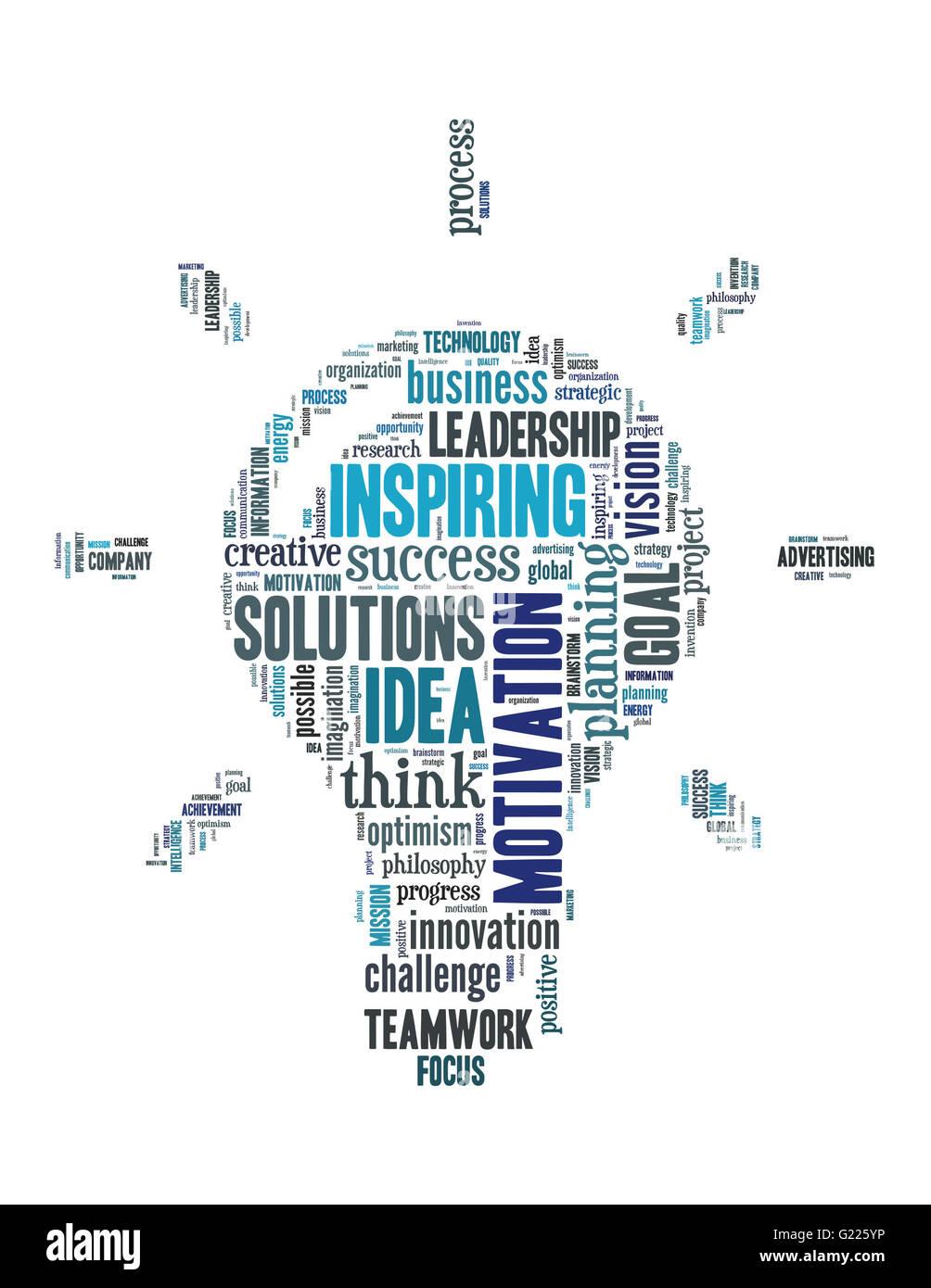 Innovation Bulb Word Cloud Concept Stock Photos & Innovation Bulb ...