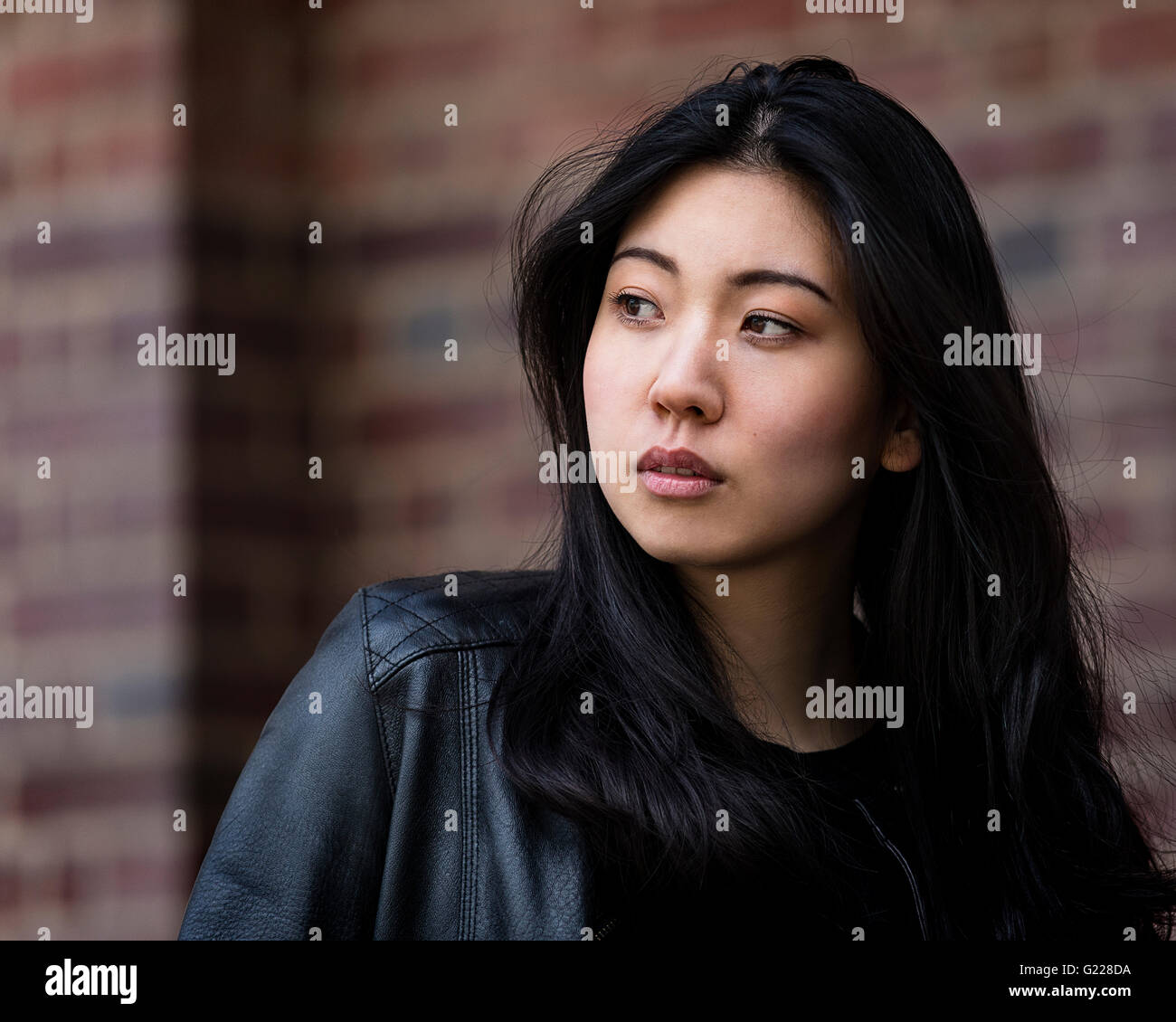 Beautiful Japanese Model Cast In An Industrial Urban Setting The Photos Were Taken And Around Welwyn Garden City UK