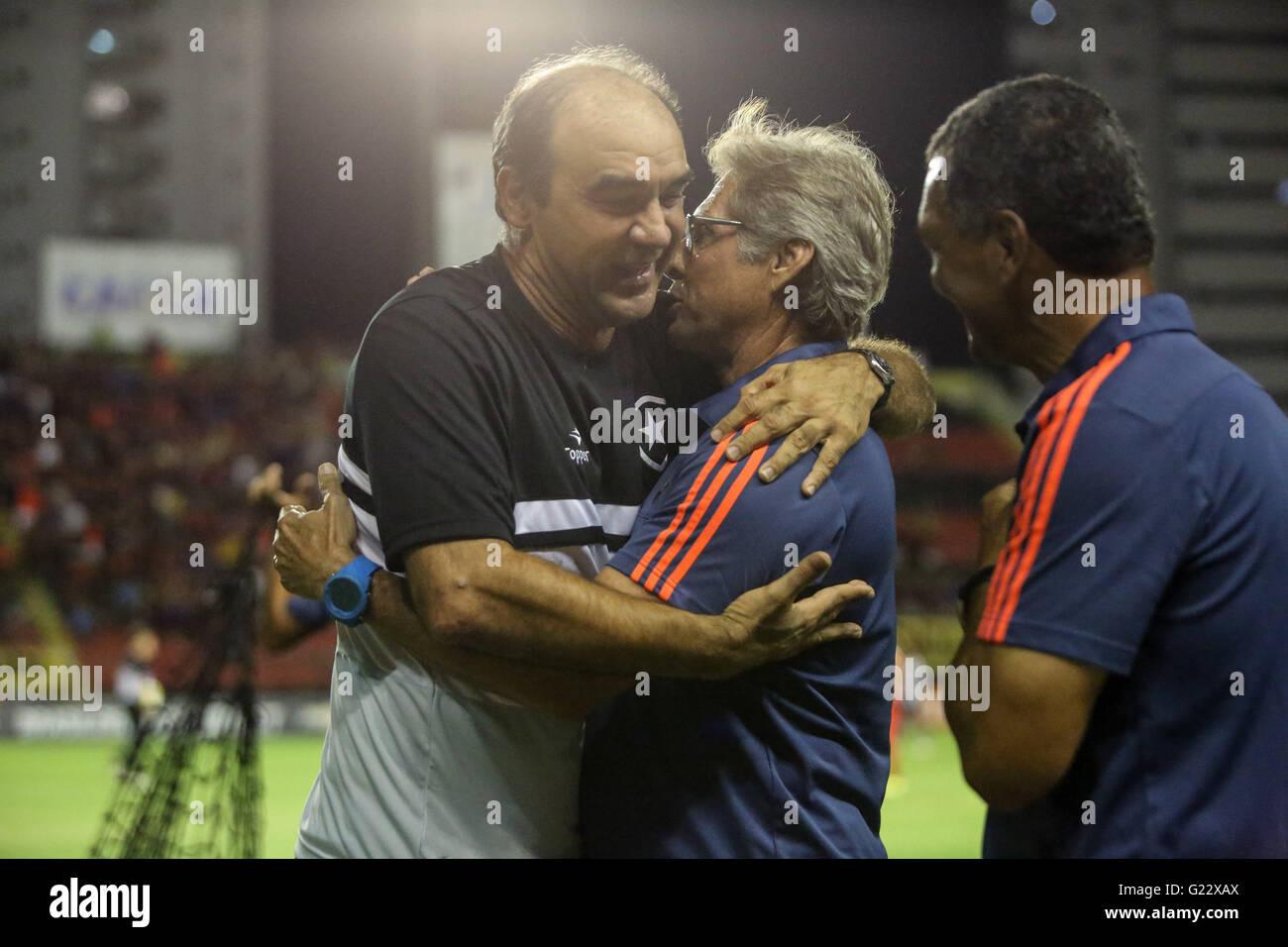 Recife Pe 05 22 2016 Sport X Botafogo Tecnico Ricardo Gomes Stock Photo Alamy