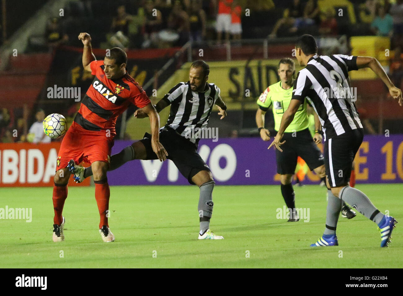 Recife Pe 05 22 2016 Sport X Botafogo Diego Souza Sport Ball In Stock Photo Alamy