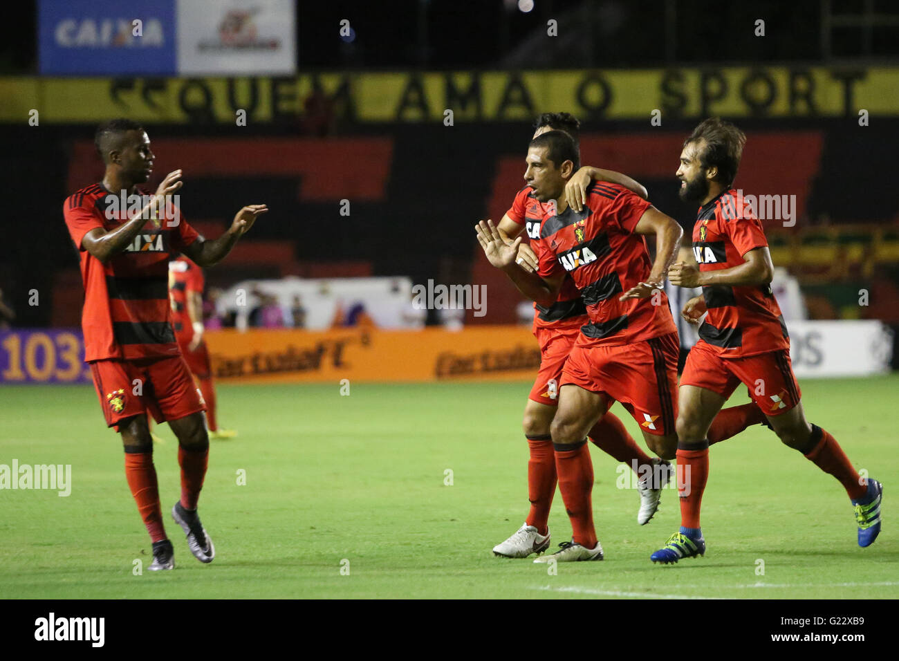 Recife Pe 22 05 2016 Sport X Botafogo Diego Souza Opens The Stock Photo Alamy