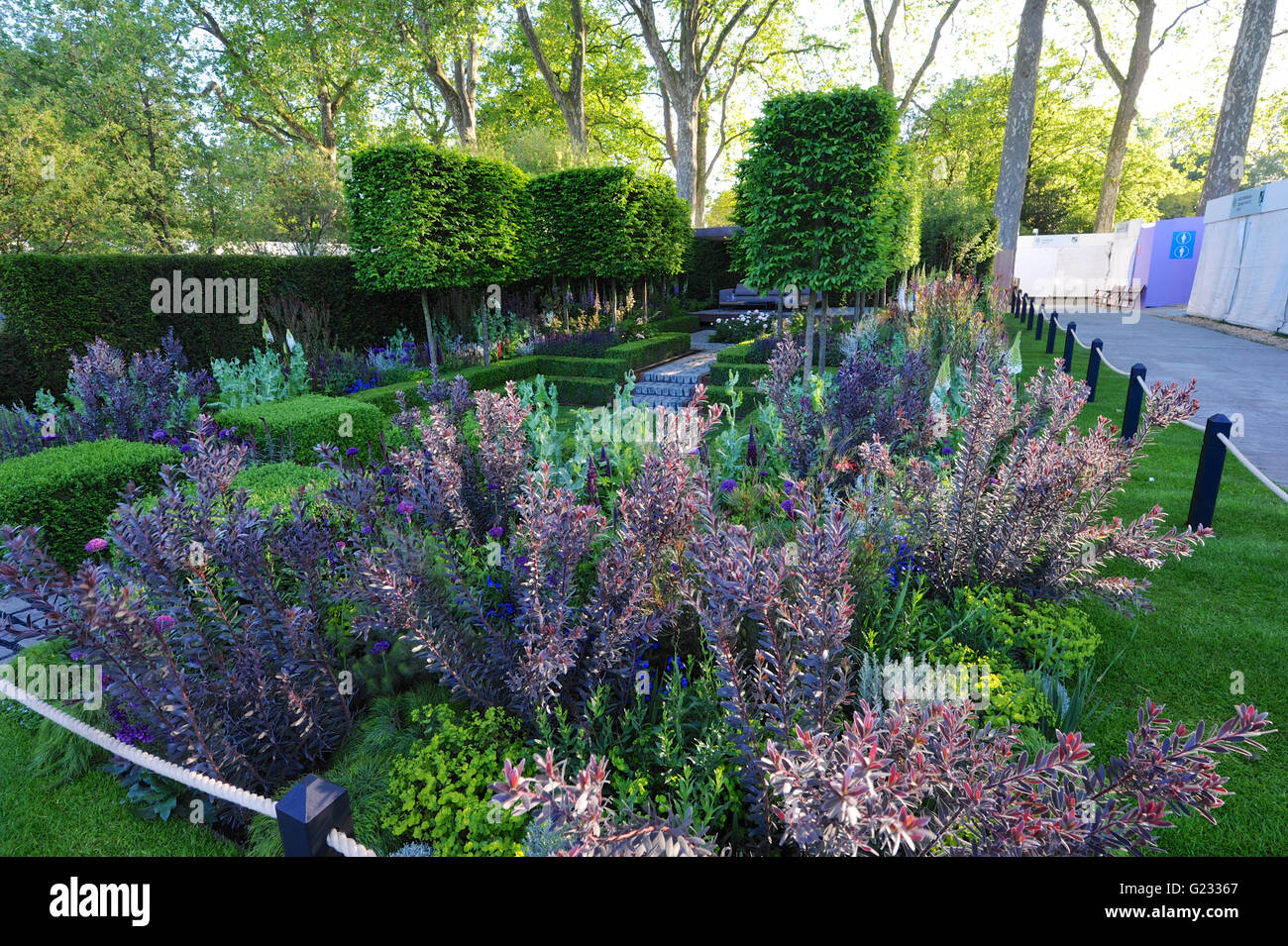 London, UK. 23rd May, 2016. Support, The Husqvarna Garden (designed by Charlie Albone), one of the 17 beautiful - Stock Image
