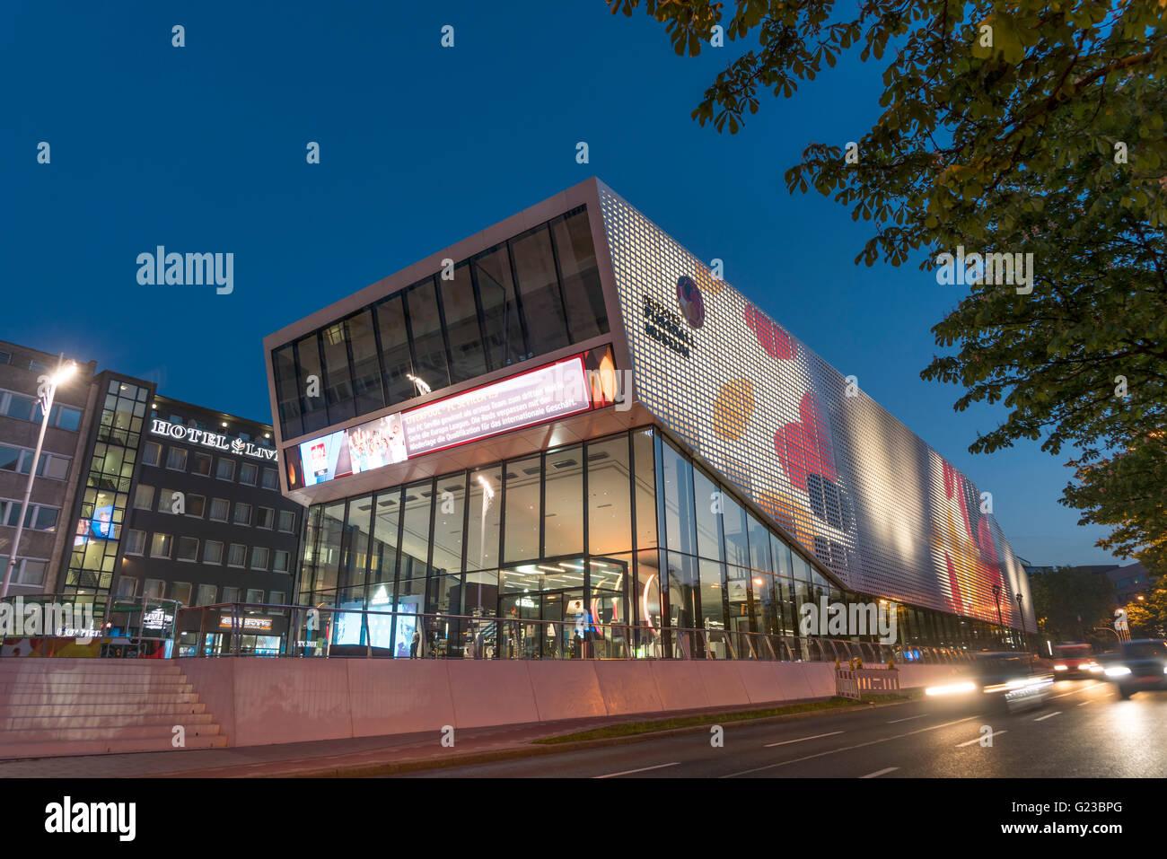 The German Football Museum in Dortmund, North Rhine-Westphalia, Germany, Europe - Stock Image