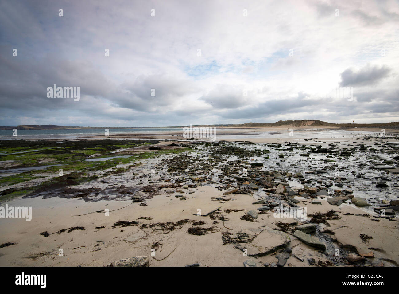 The Beach at Dunnet Bay in Thurso, Caithness Scotland UK - Stock Image