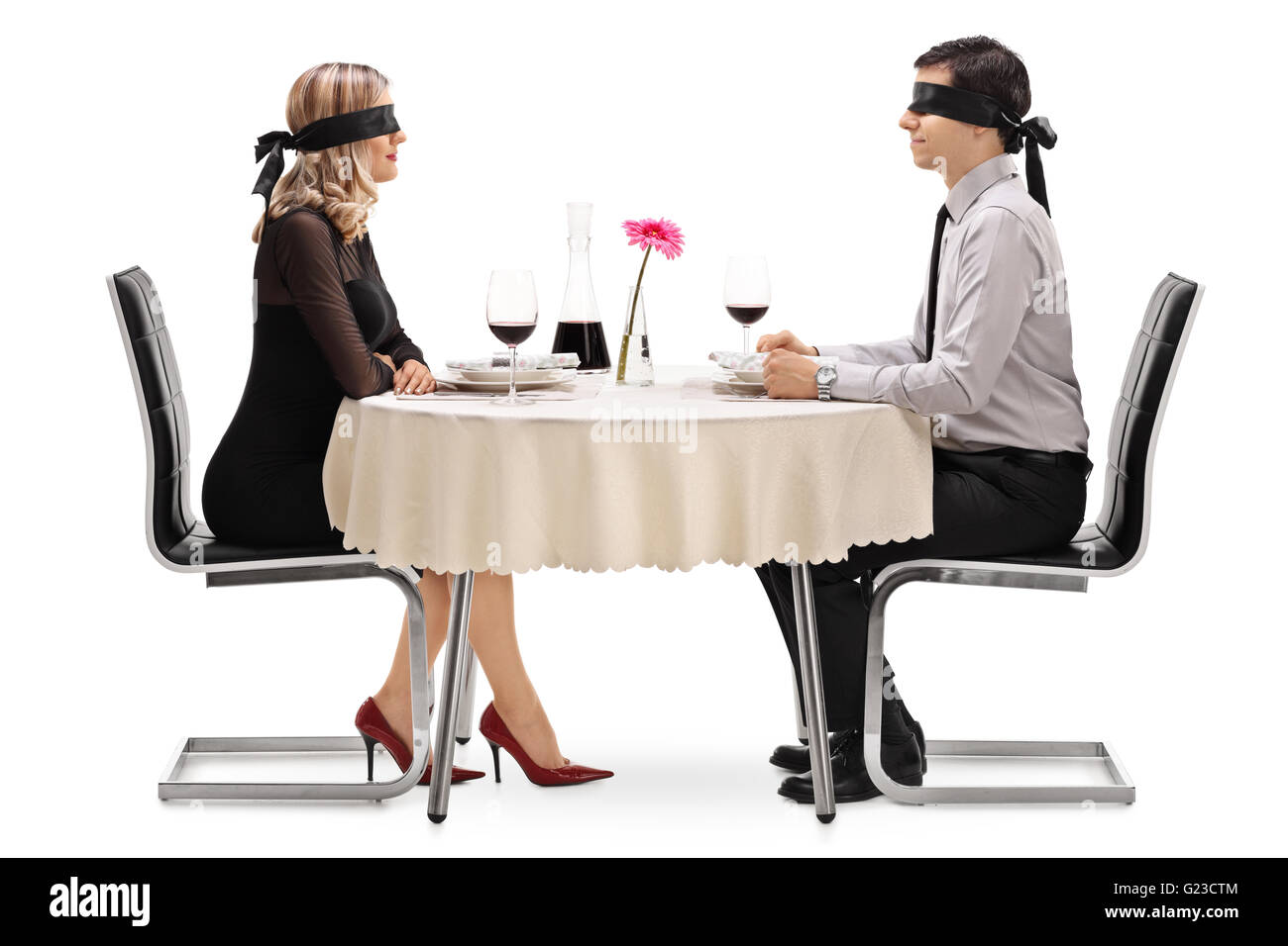 dating blind woman