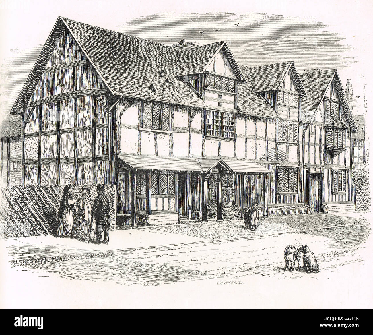 an analysis of william shakespeare born in stratford upon avon warwickshire c england William shakespeare,  born - abt 1531 - (warwickshire) england:  john shakespeare moved to stratford-upon-avon in 1551, where he became a successful businessman .