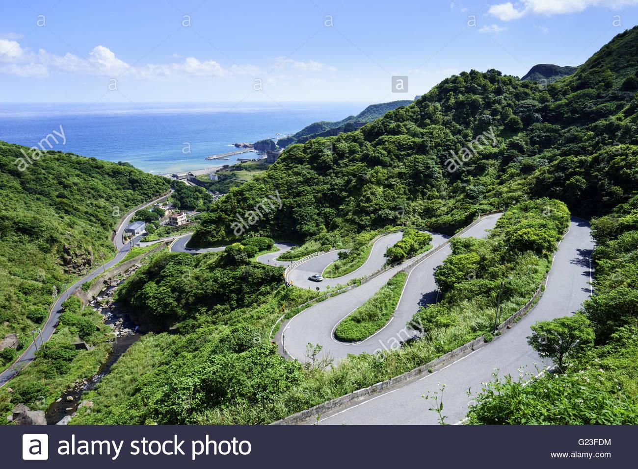 jinshui road in taiwan