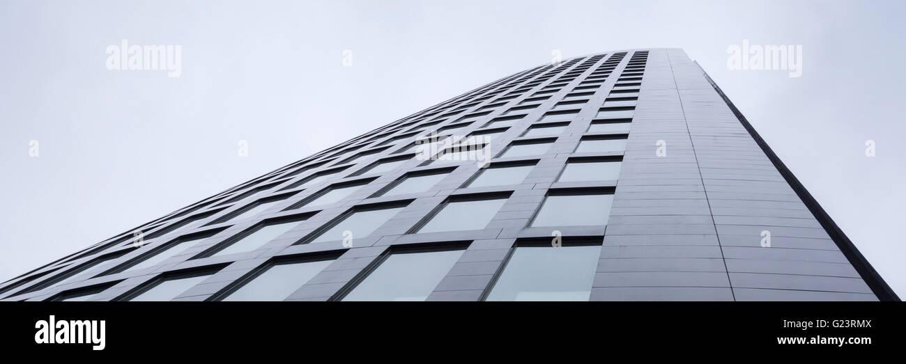 The modern office RWE Tower, Dortmund Stock Photo