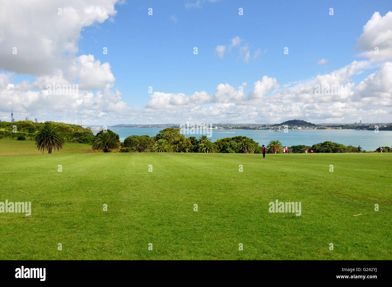 Bastion Point, Auckland - Stock Image