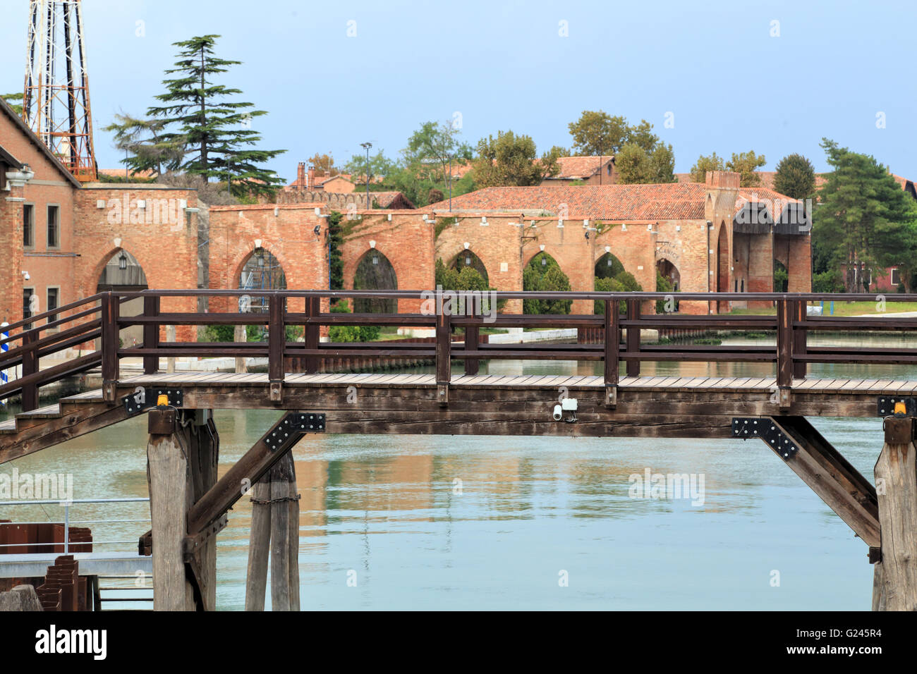 Arsenale, Venezia, Castello - Stock Image